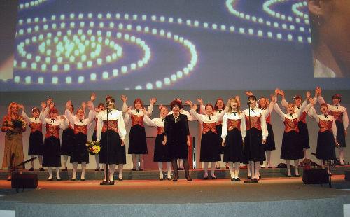 детский хор Кантилена. Выступление в Германии, Унтершляйсхайм