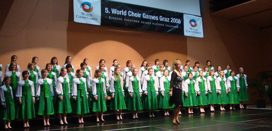 Детский хор Кантилена (Зеленоград) на Всемирных хоровых играх в Австрии