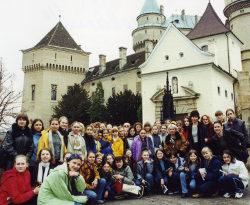 2001 - Словакия. Австрия. Польша