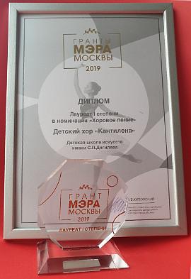 Гранты мэра Москвы-2019